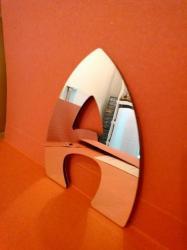 Lettre miroir modèle HARLEQUIN