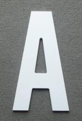 Découpe de lettre enseigne en plastique pvc ALTERNATE GOTHIC