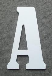 Découpe de lettre enseigne en plastique pvc BERNARD CONDENSED