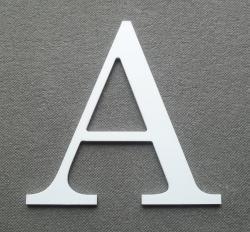 Découpe de lettre enseigne en plastique pvc CENTURY