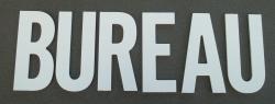 Lettre PVC : BUREAU