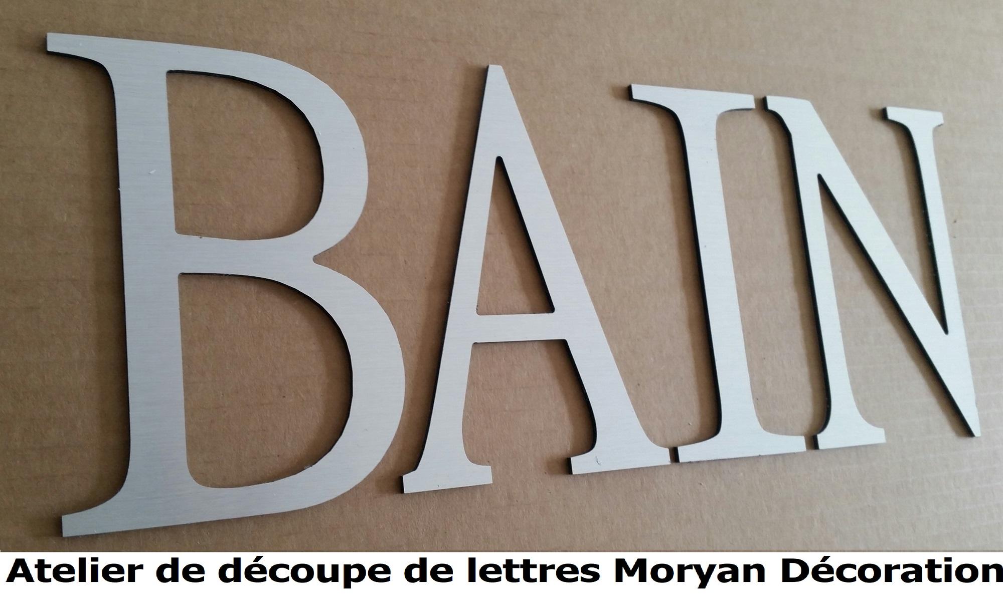 Lettre deco BAIN 2