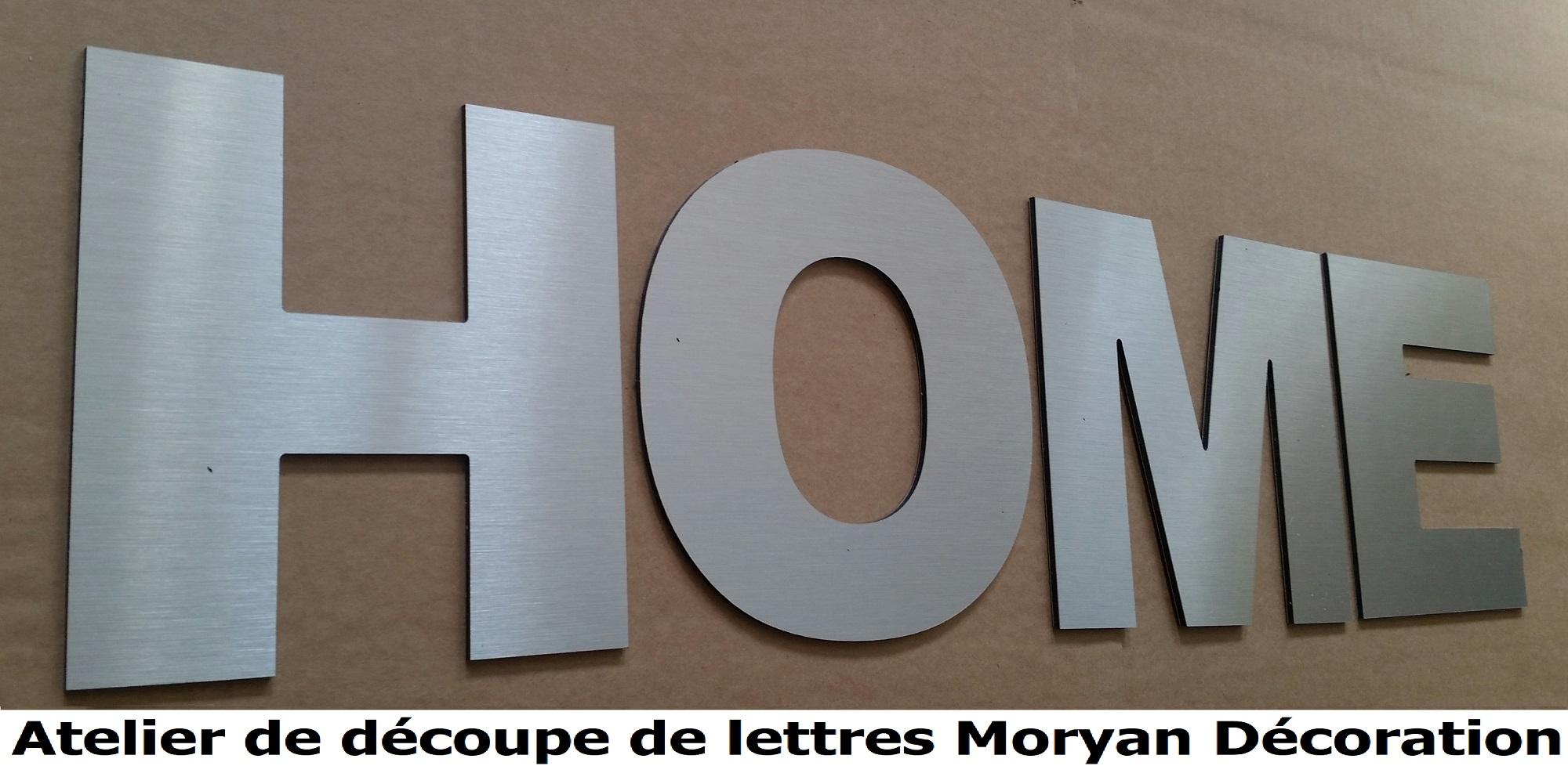 Lettre deco HOME 1