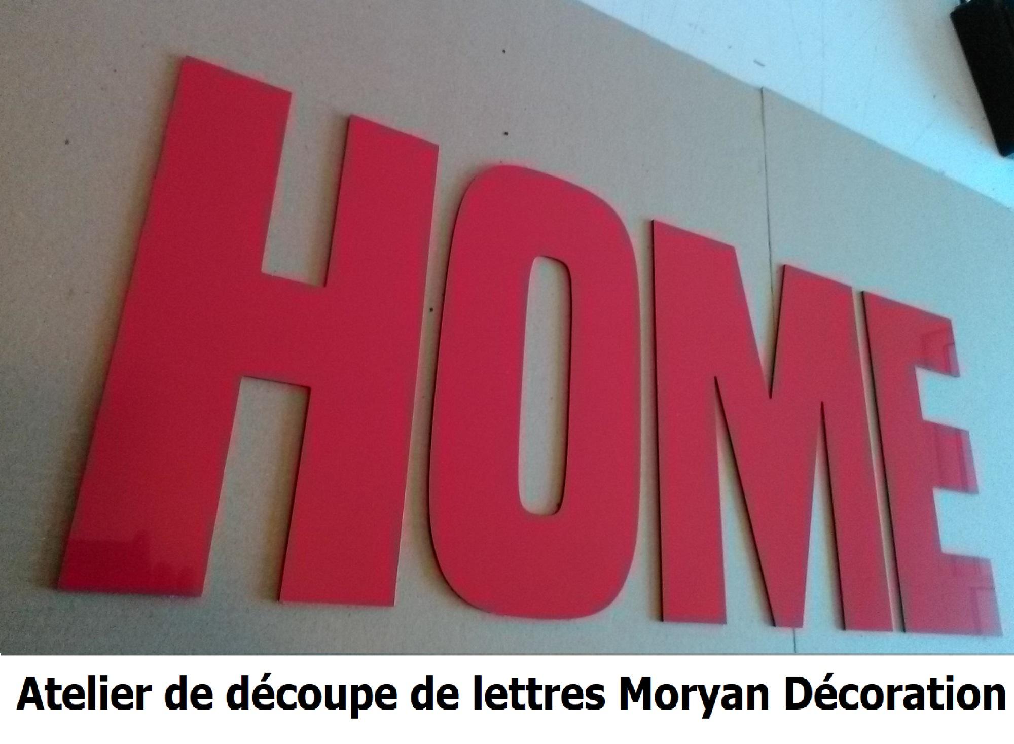 Lettre deco HOME 4