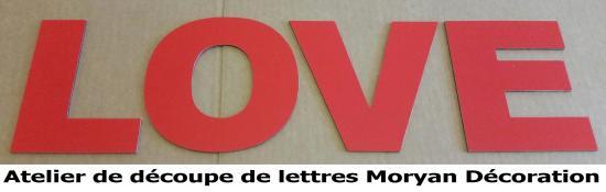 Lettre deco LOVE