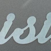 Lettre en zinc CUISINE