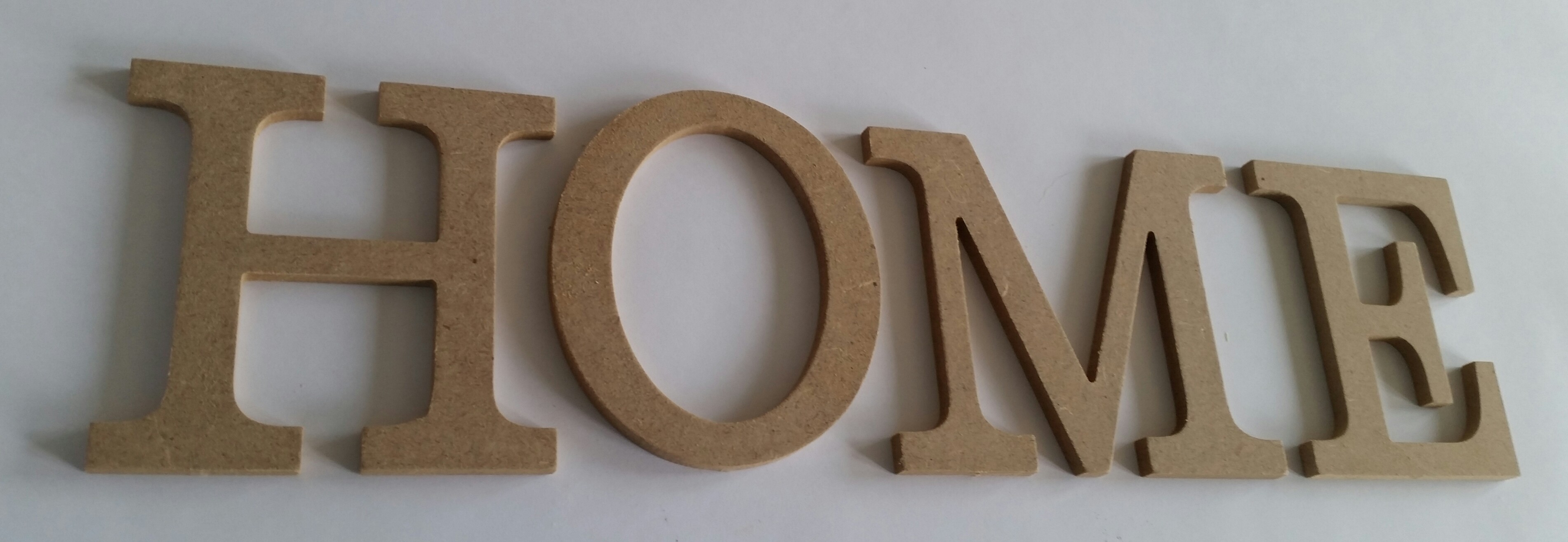 Lettre mdf home