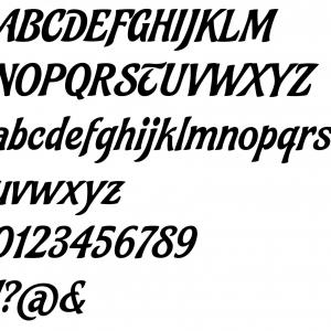 Alphabet felipe 1