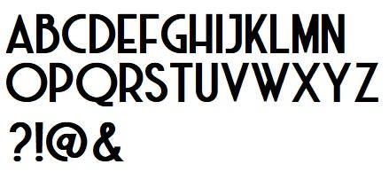 Alphabet harleem