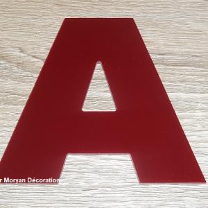 Enseigne plexi arial black 1