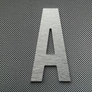 Découpe lettre enseigne alu DIBOND ALTERNATE