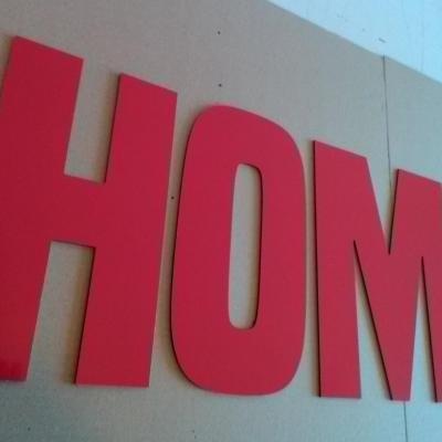 Lettre déco HOME