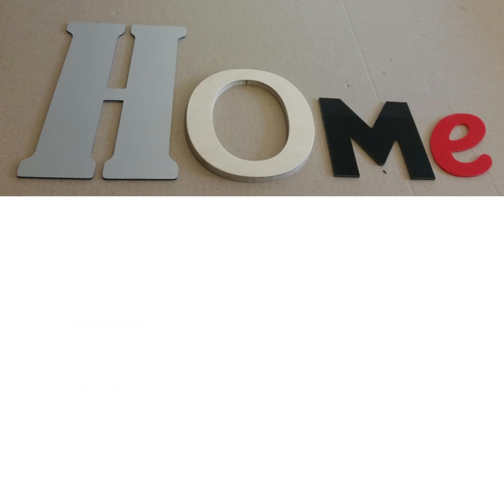 Lettre decorative home lot 0012