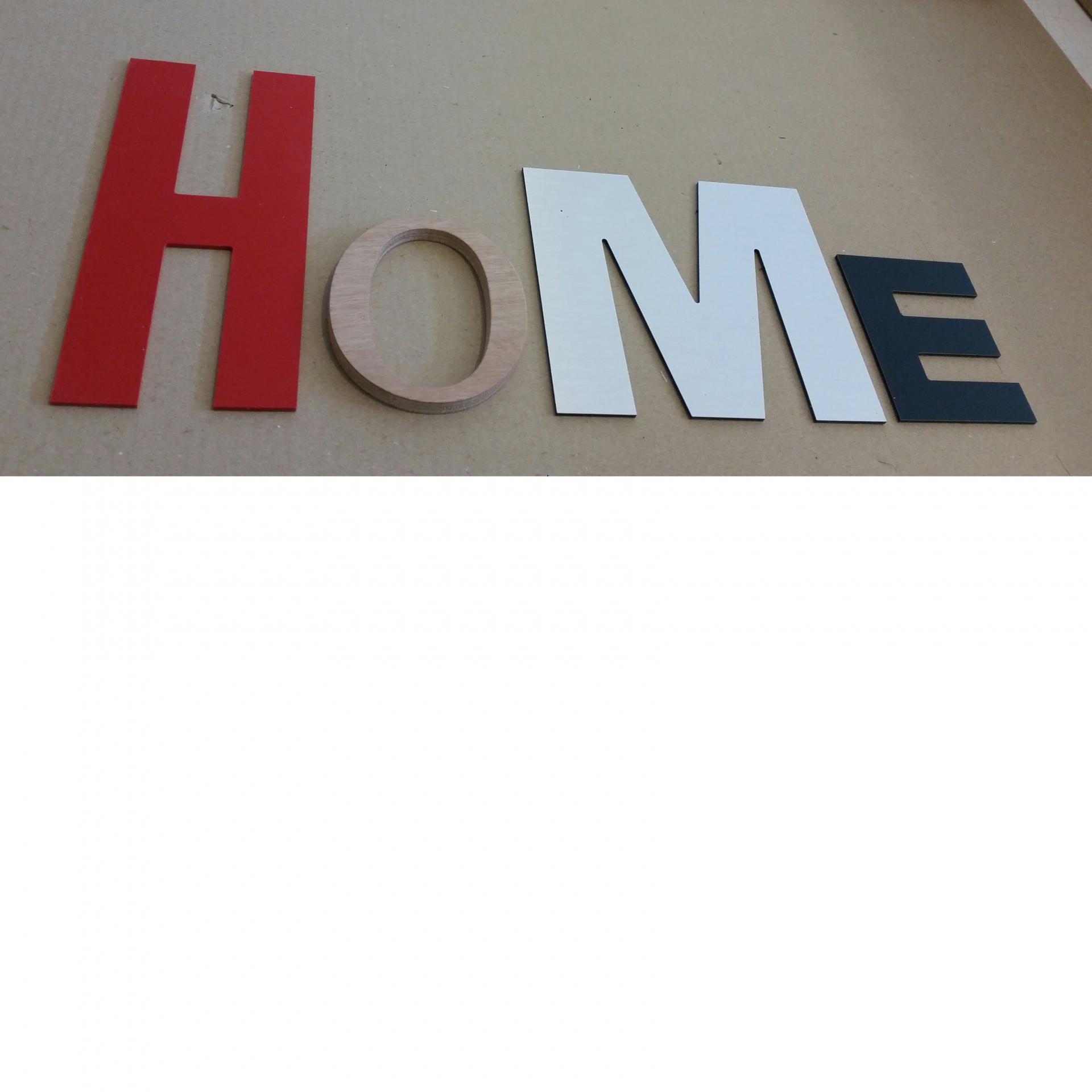 Lettre decorative home lot 9
