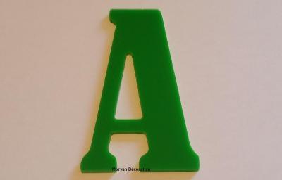 Lettre plexiglas BERNARD COND
