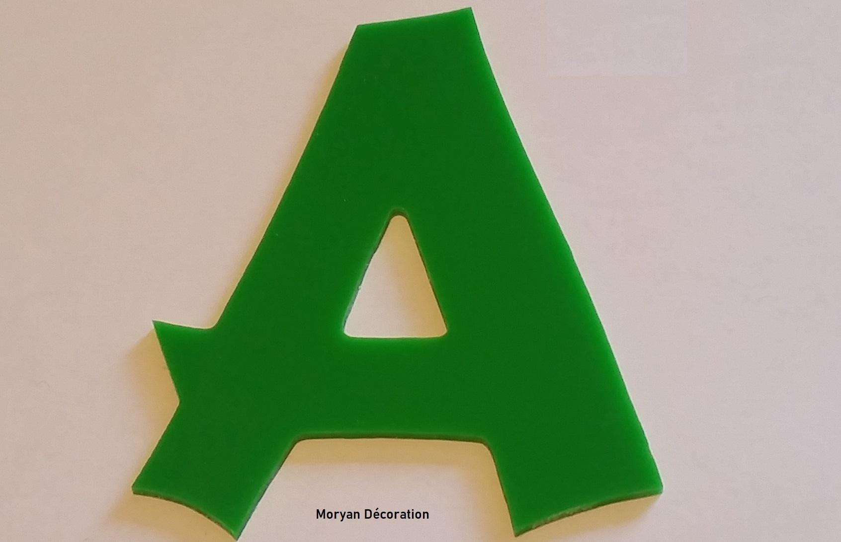 Lettre decorative plexi cancun