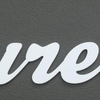 Lettre décorative PVC BUREAU