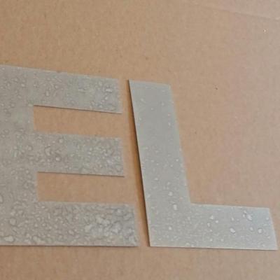 Lettre decorative en zinc RELAX