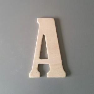 Lettre en bois bernard condensed 1