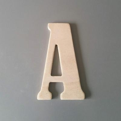 Lettre en bois BERNARD