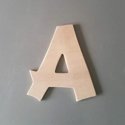 Lettre en bois modèle CANCUN