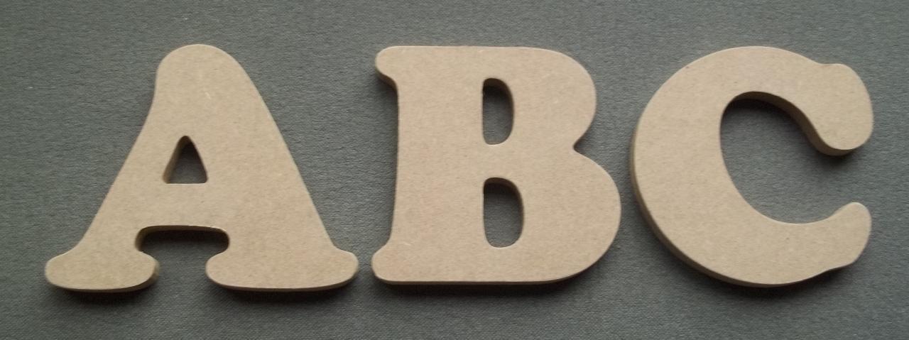 lettre en bois Lettre en bois décorative murale à peindre | Moryan Décoration lettre en bois