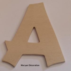 Lettre en bois decorative a peindre cancun