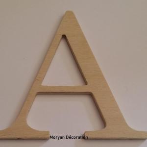 Lettre en bois decorative a peindre century