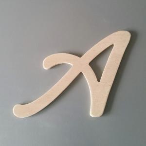Lettre en bois lombriz 2