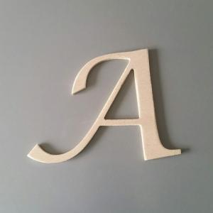 Lettre en bois lucida calligraphy 3