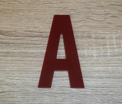 Lettre plexiglas ALTERNATE GOTHIC