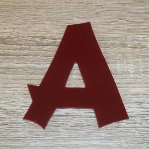 Lettre en plexiglas rouge cancun 2