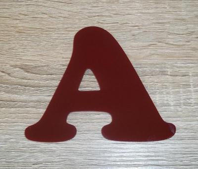 Lettre plexiglas COOPER BLACK