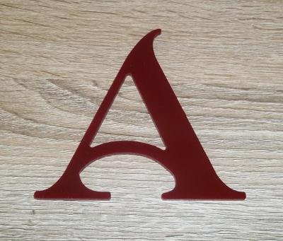 Lettre plexiglas SHANGRI LA