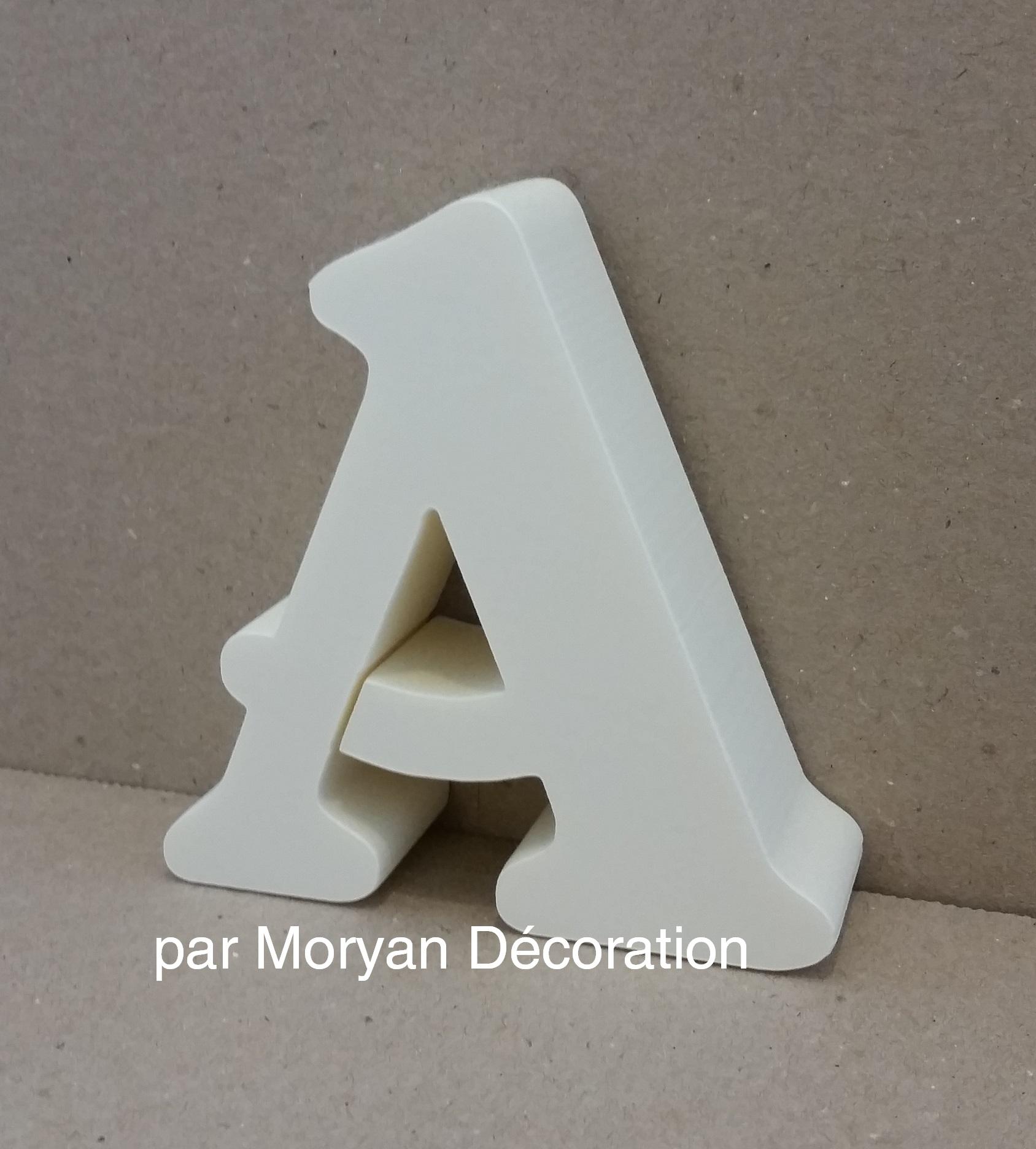 Lettre en polystyrene belshaw 1