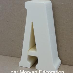 Lettre en polystyrene bernard 1