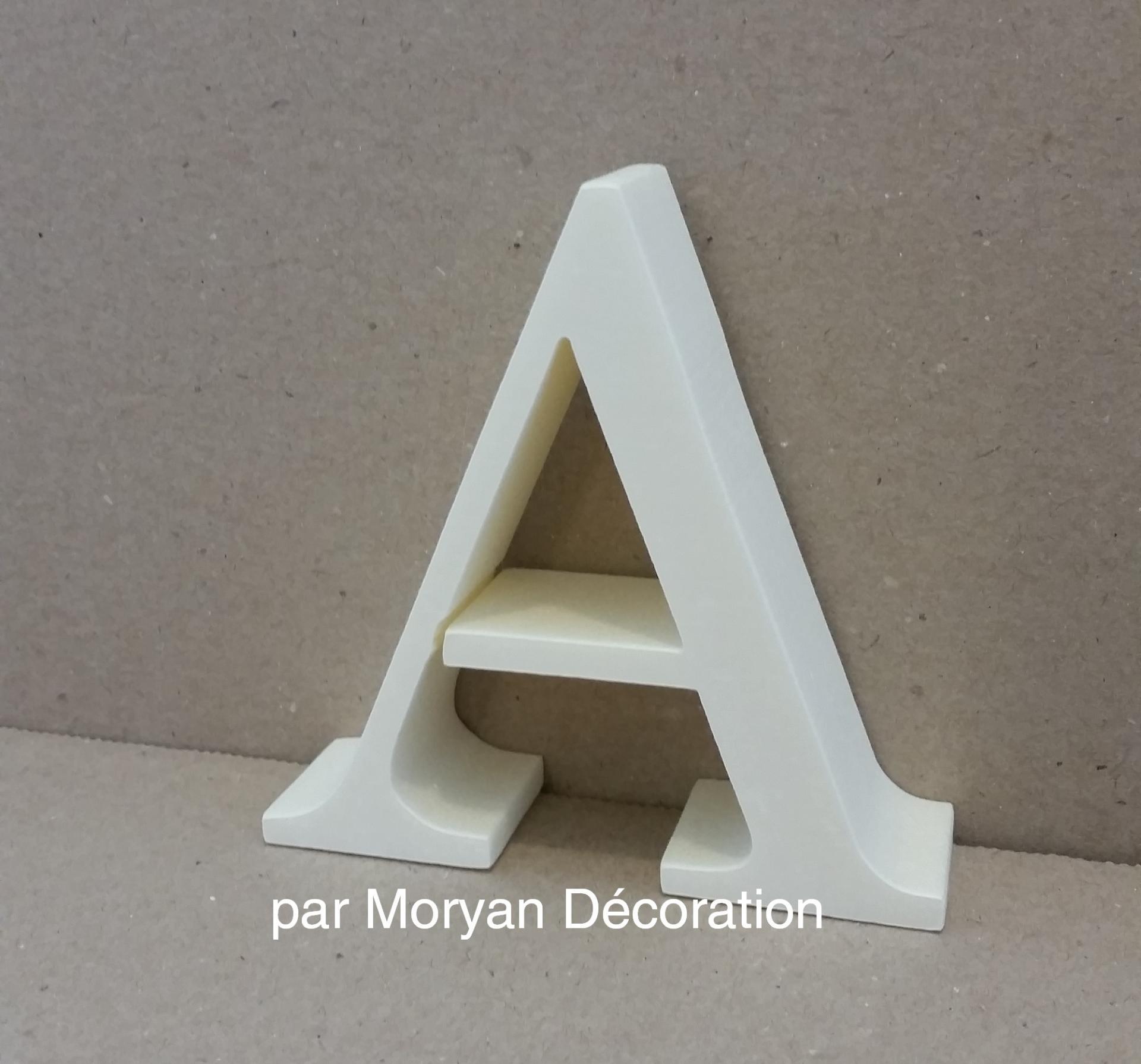 Lettre en polystyrene century 1