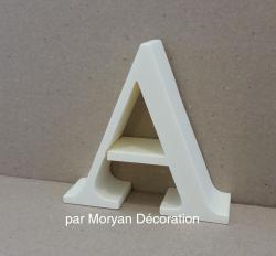 Lettre en polystyrène modèle CENTURY