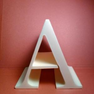 Lettre en polystyrene century