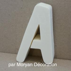 Lettre en polystyrene dom 1