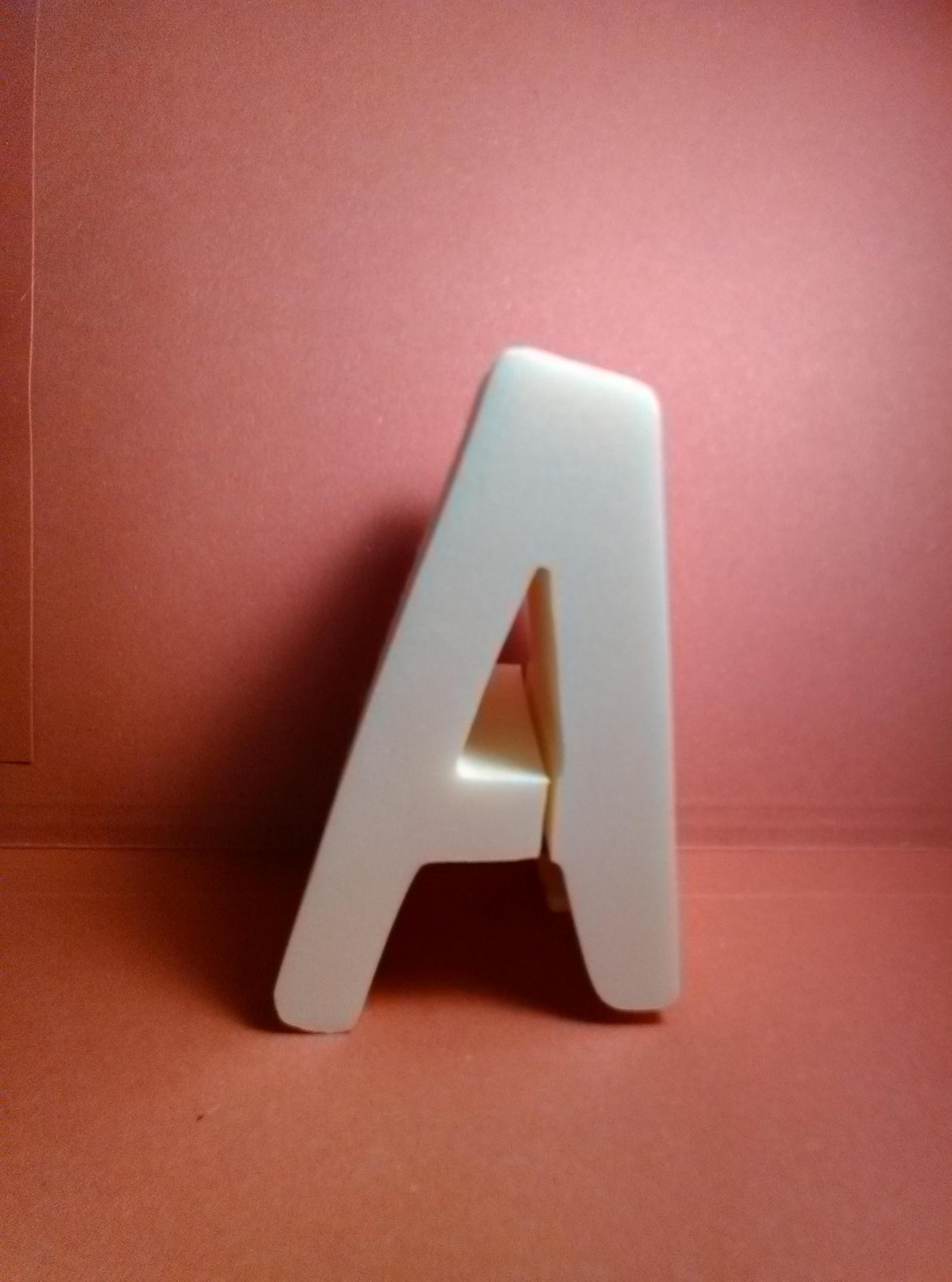 Lettre en polystyrene dom casual