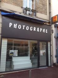 Lettre en pvc plastique photographe