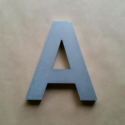 Lettre en relief 3D ARIAL