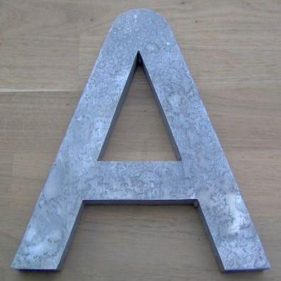 Lettre en relief 3D DIGITAL SANS