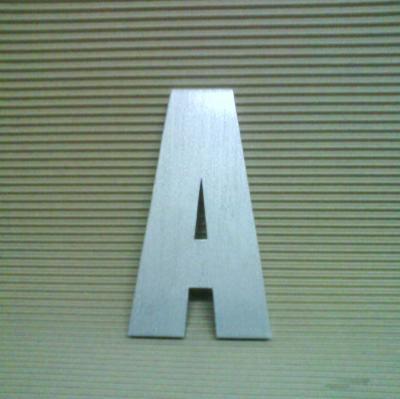 Lettre en relief 3D IMPACT