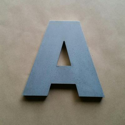 Lettre en relief 3D ARIAL BLACK