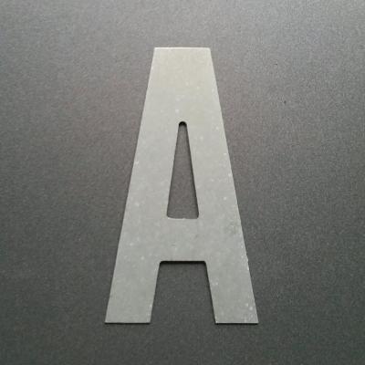Lettre en zinc ALTERNATE GOTHIC