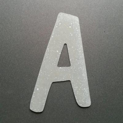 Lettre en zinc DOM CASUAL