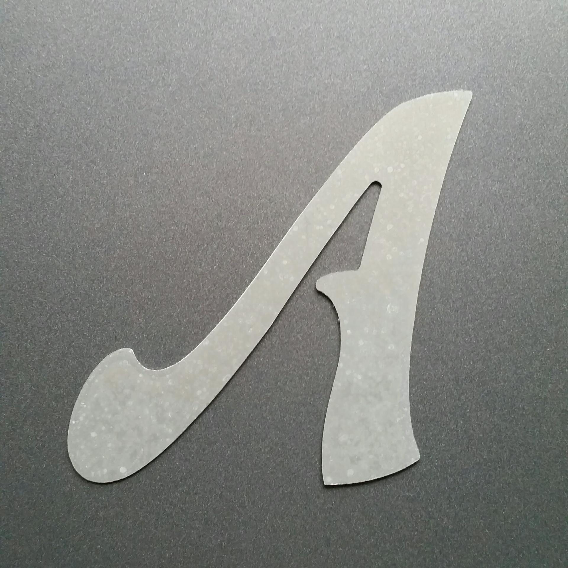 Lettre en zinc felipe