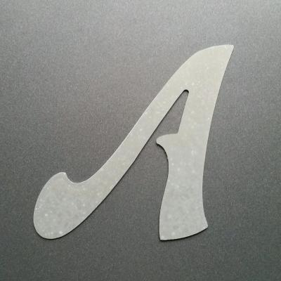 Lettre en zinc modèle FELIPE